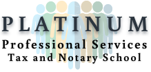 Platinum Professional Services Online Tax and Notary Education